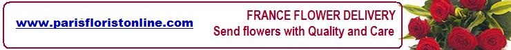 Your online local florist Service in France. Send gifts flowers to throughout France. International flower Shops today delivery extends to Germany, Greece, Belgium, Austria